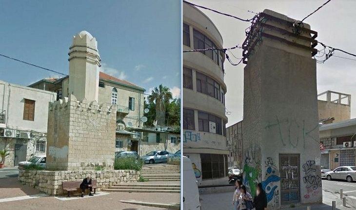 מבנים היסטוריים בישראל: שנאיי חשמל של רוטנברג, תל אביב