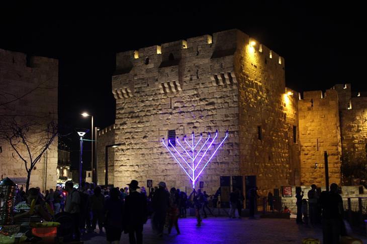 אירועים חינמיים בחנוכה 2017: חחנוכה בירושלים