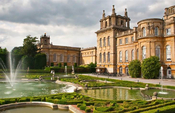 אתרי מורשת עולמית באנגליה: חלקו האחורי של ארמון בלנהיים