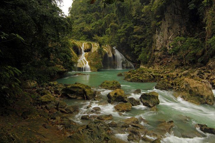 שמורת הטבע סמוק שמפיי, גוואטמלה