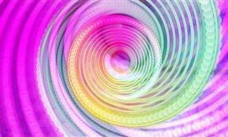 מערבולת צבעונית