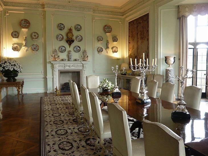 חדר אוכל בטירת לידס