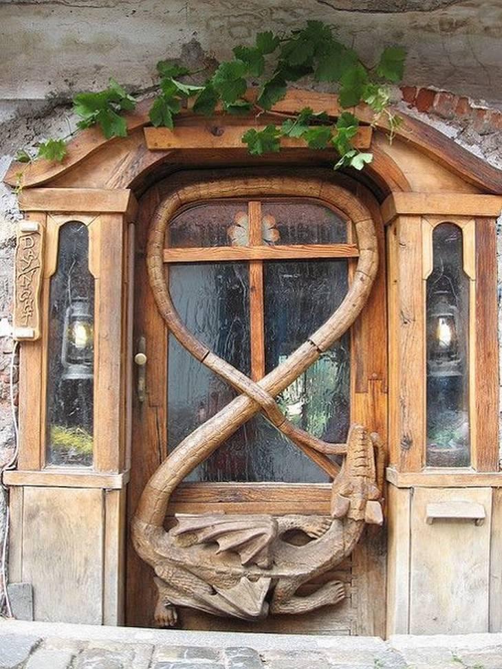 דלתות מדהימות בעיצובן, מרחבי העולם