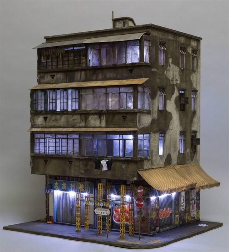 מבנים עירוניים מיניאטוריים