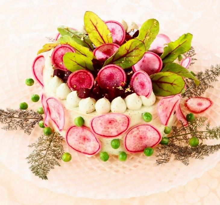עוגות עשויות ירקות