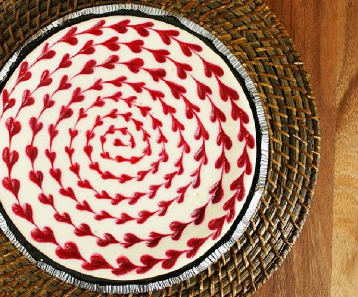 ציפוי לבבות לעוגה