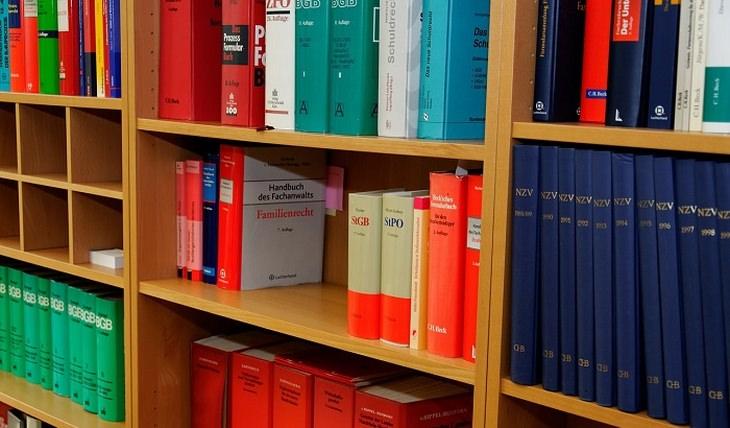 זכויות ומענקים כספיים לניצולי שואה: מדפים עם ספרים עליהם