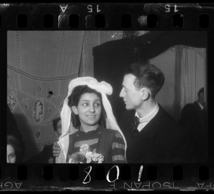 1940-1944: חתונה בגטו