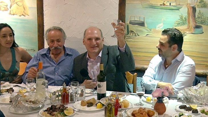 ארוחה יוונית