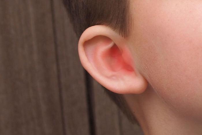 אוזן מודלקת של ילד