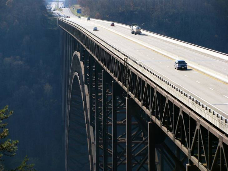 גשר הערוץ החדש, ארצות הברית