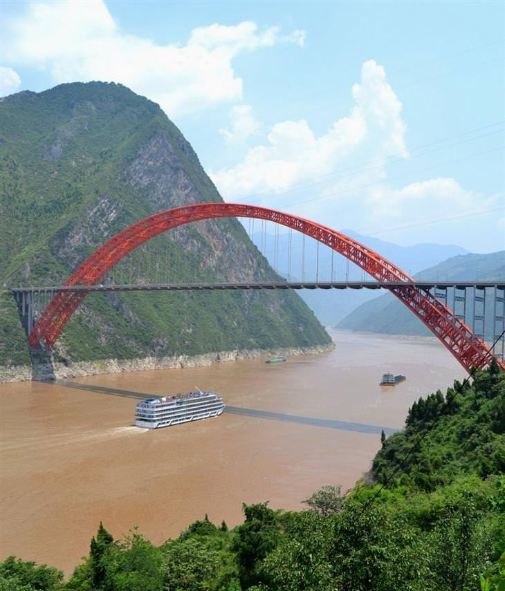 גשר וושאן יאנגצה, סין