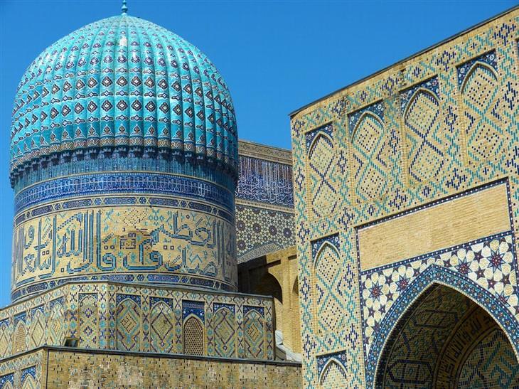 מסגד ביבי-חנום, סמרקנד, אוזבקיסטן