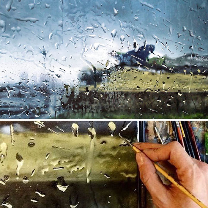 ציור שמן על קנבס - Anton Fedko