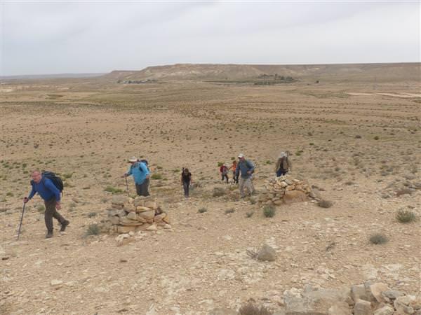 מסלול למיטבי לכת: הר אלדד, נחל עבדת, הר ערקוב ובורות רמליה