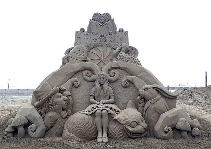 פסלי חול