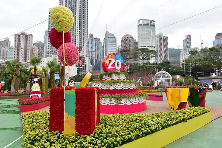 תערוכת הפרחים בהונג קונג 2017