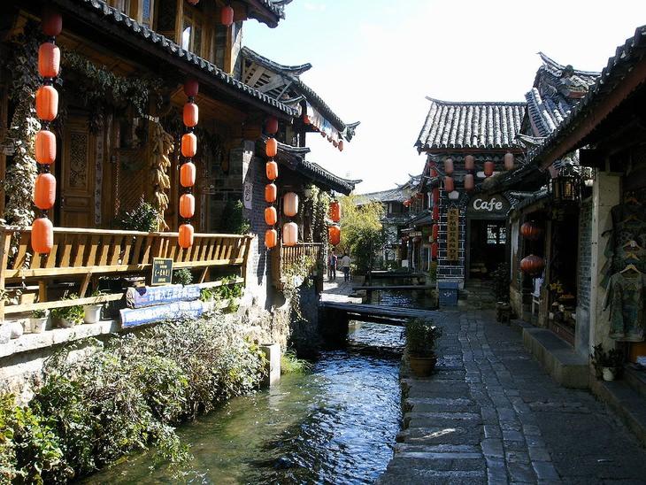 רחובות העיר ליג'יאנג, סין