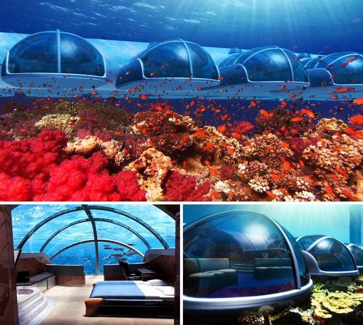 מלונות מיוחדים מרחבי העולם: מלון תת מימי פוסידון, פיג'י