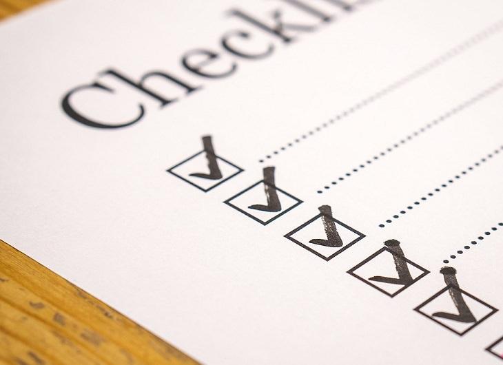 כללי נימוס חברתיים: רשימת בדיקה