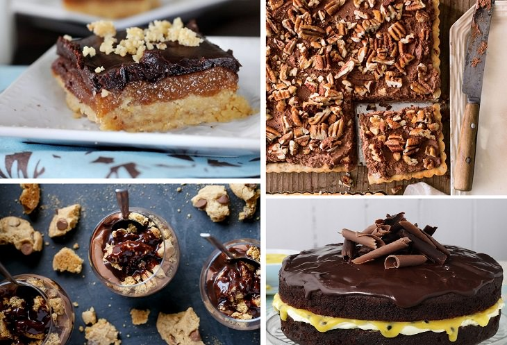 מתכונים לקינוחים מיוחדים: קולאז' עוגות