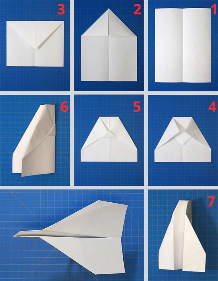 מדריכים ליצירת מטוסי נייר מיוחדים: הוראות הכנה למטוס יציב