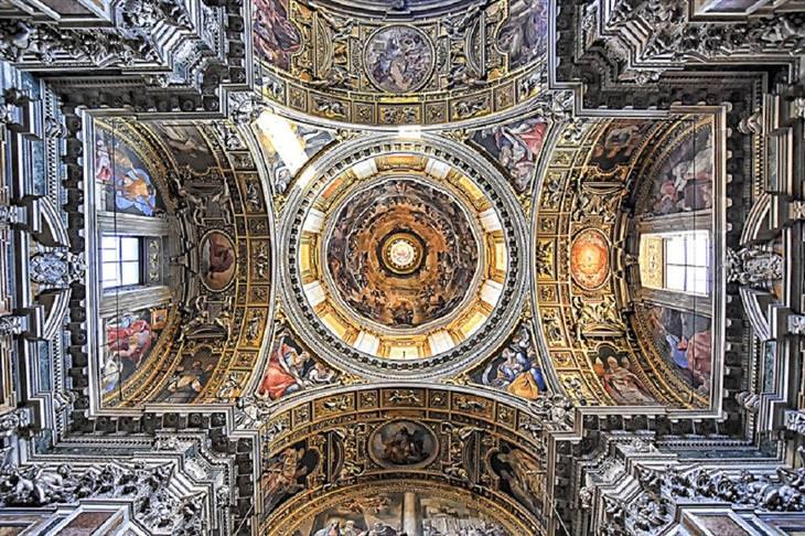 תקרות של כנסיות ברומא: בזיליקת סנטה מריה מג'ורה