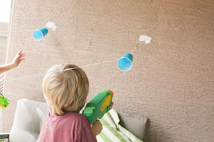 פעילויות לילדים בקיץ: מרוץ רובי מים