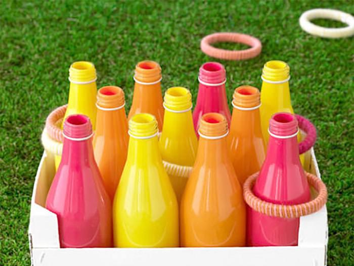 פעילויות לילדים בקיץ: השחלת טבעות