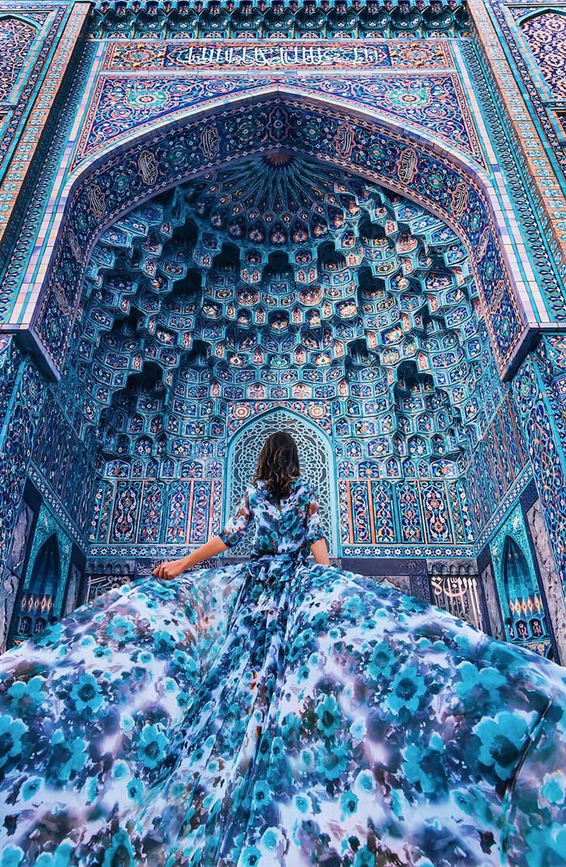 דוגמניות ונופים יפים: מסגד סנט פטרסבורג, סנט פטרסבורג, רוסיה