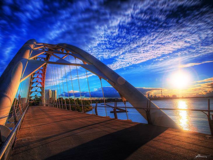 זריחות ברחבי העולם: זריחה בטורונטו