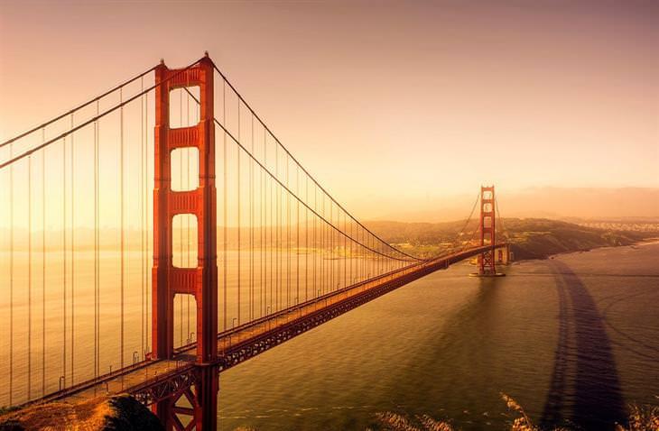זריחות ברחבי העולם: זריחה בסן פרנסיסקו