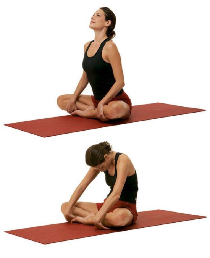 תרגילי יוגה להעלאת אנרגיה: תנוחת רכיבת הגמל