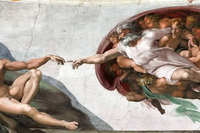 מה הפילוסופיה שלך לחיים: היצירה בריאת האדם של מיכאלנג'לו