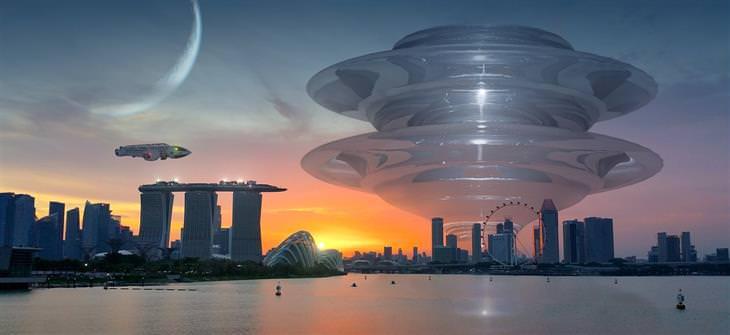 אירועים חינמיים בליל המדענים 2017: עיר בכדור הארץ עם רקע עתידני
