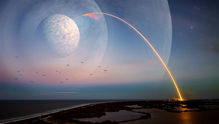 אירועים חינמיים בליל המדענים 2017: שיגור של טיל מכדור הארץ לירח
