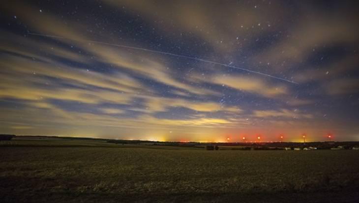 """תחרות צילומי לילה: """"סימביוזה של שמי כוכבים"""" של רמי בוצ'ר"""