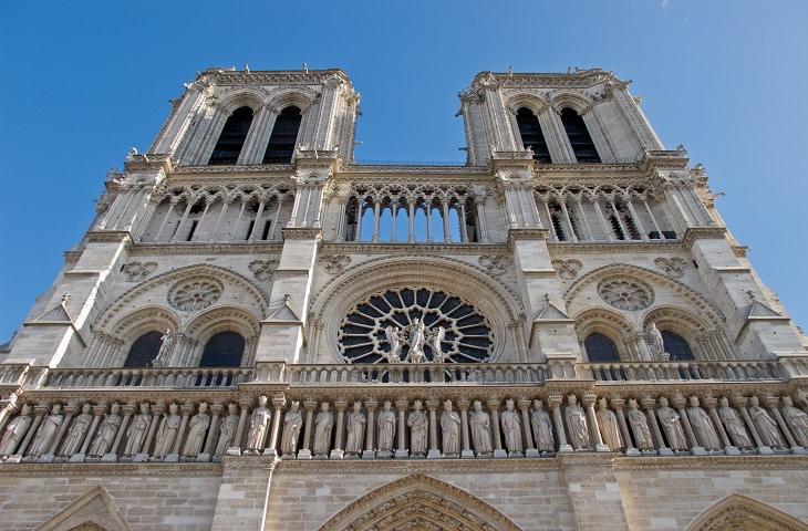 קתדרלת נוטרדאם, פריז, צרפת