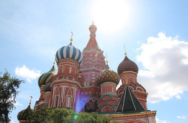 כנסיית ואסילי הקדוש, מוסקבה, רוסיה