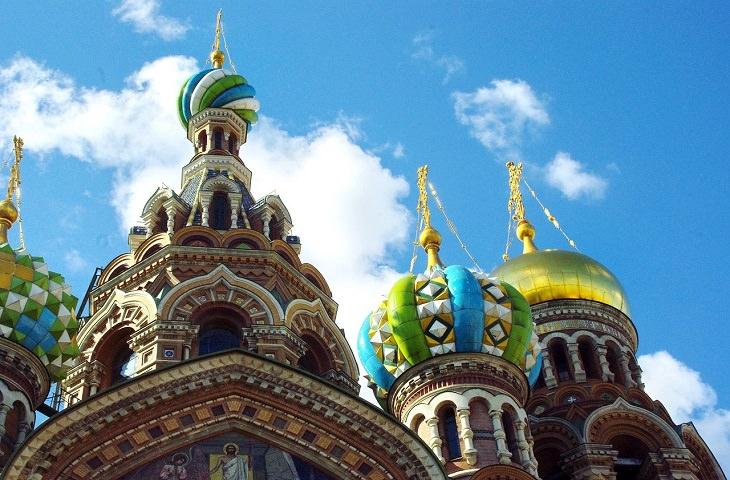 כנסיית הגואל שעל הדם, סנקט פטרבורג, רוסיה