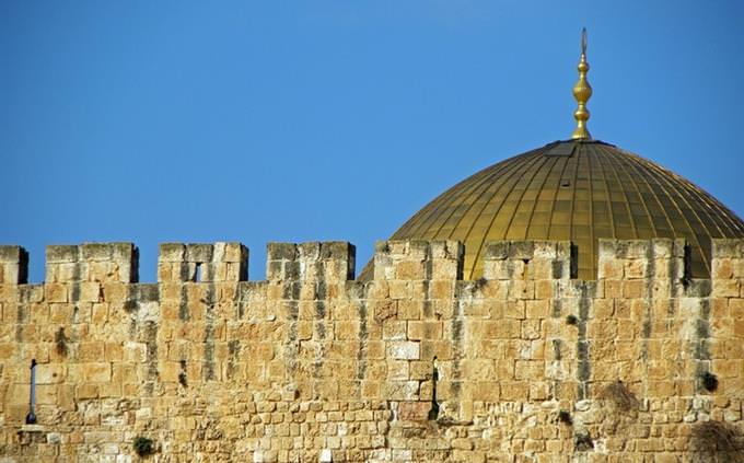 מבחן טריוויה: חומות ירושלים וכיפת הסלע