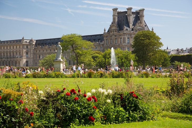 אתרי חובה בפריז: גני טווילרי
