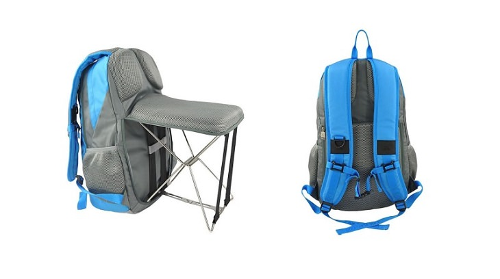 המלצות מדליקות שחוסכות זמן וכסף: כיסא שמתקפל לתוך תרמיל גב