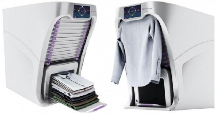 המלצות מדליקות שחוסכות זמן וכסף: מכונת כביסה שמקפלת את הבגדים