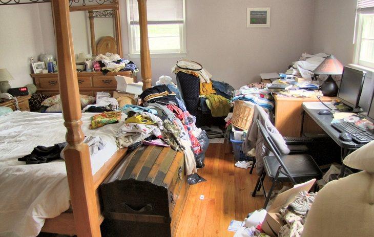 מה מפריע לגברים ונשים: חדר מבולגן