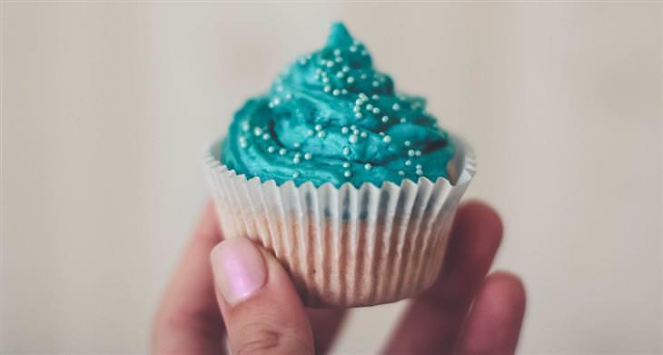 טיפים מאמהות חכמות: קאפקייק כחול