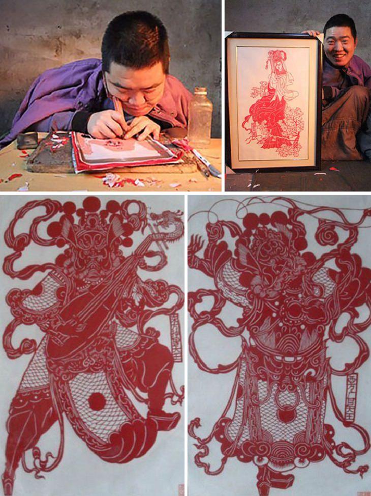 יצירות של אמנים בעלי מוגבלויות: יאנג ויצירותיו