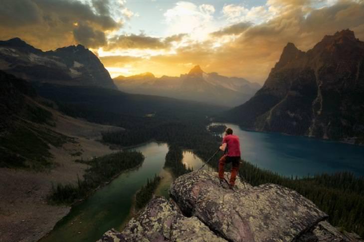 צמד צלמים מתעד את העולם: רמת אופבין, הפארק הלאומי יוהו, קנדה