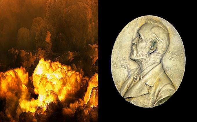 מבחן טריוויה: מדליית פרס נובל ופיצוץ מלווה בעשן ולהבות