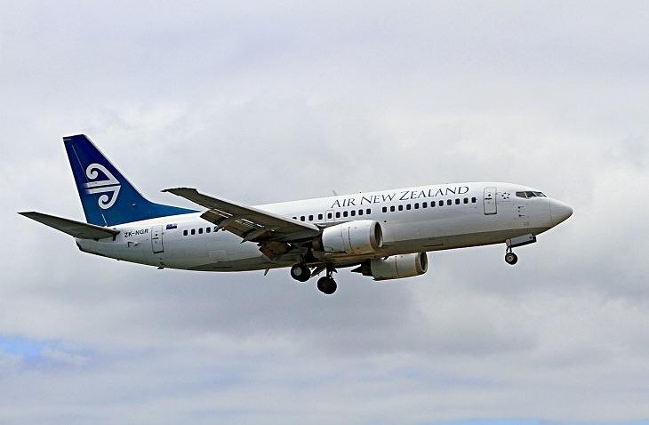 תלונות נפוצות במדינת העולם: מטוס של אייר ניו זילנד
